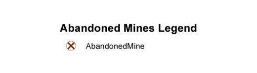 Abandoned Mines Legend